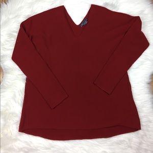 Vince Cashmere Blend V-Neck Sweater